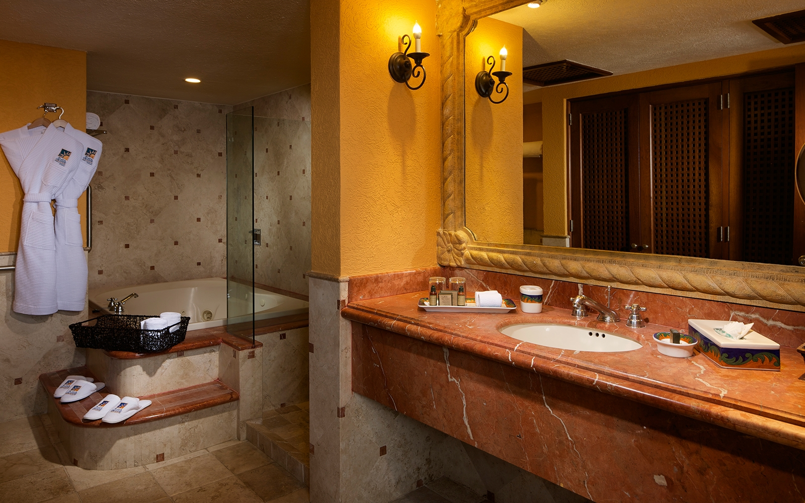 Two Bedroom Presidential Suite Bathroom